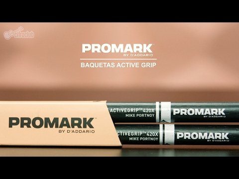 Review ProMark Active Grip + Evans '56 Calftone