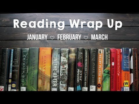 Reading Wrap Up - 18 BOOKS! | 2018