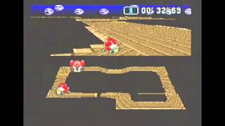 Super Mario Kart (PAL) Time Trial : Ghost Valley 1 (GV1) - 1