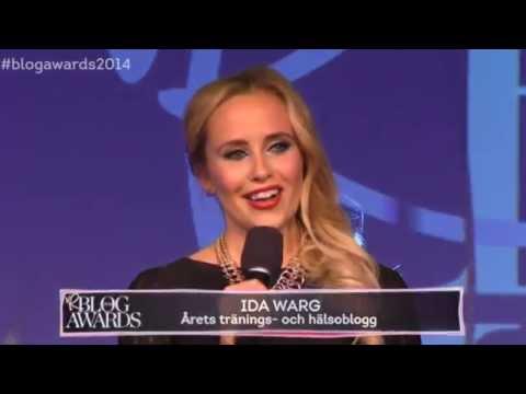 Blog Awards: Ida Warg - Årets tränings- och hälsoblogg - TV4