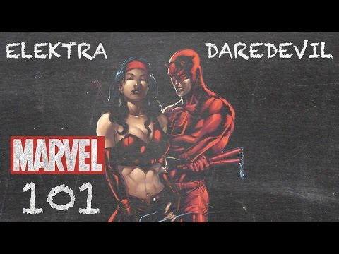 Opposites Attract - Daredevil & Elektra - MARVEL 101