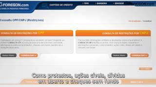 Consulta CPF CNPJ - Como funciona o serviço Consulta CPF/CNPJ da Foregon.com