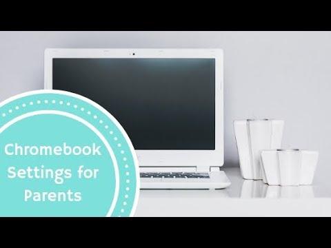 Chromebook Settings for Parents | Tech Lovin' Mom