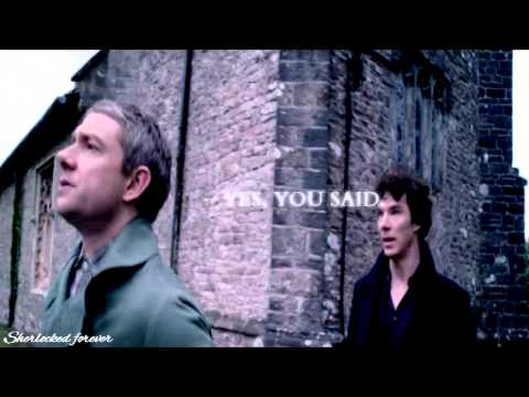 Johnlock | Three Little Words ... I Love You.