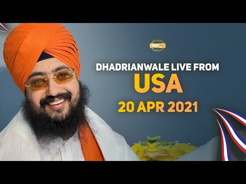 Dhadrianwale Live from USA | 20 April 2021 | Emm Pee