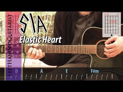 Sia - Elastic Heart | Simple Guitar Lesson