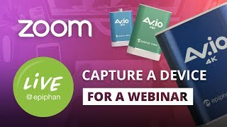 How to Capture a Device Screen for a Webinar