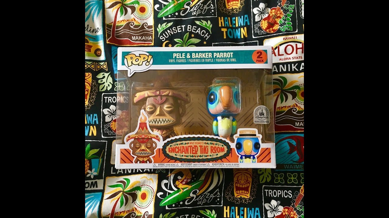 Funko Pop Disney Park Exclusive Enchanted Tiki Room Pele