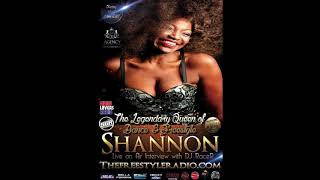 DJ Racer Interview with the Queen of Freestyle, Shannon - 11-15 - 2019