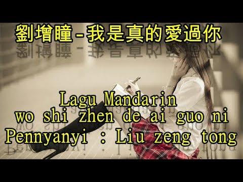 Lagu Mandarin wo shi zhen de ai guo ni,劉增瞳-我是真的愛過你