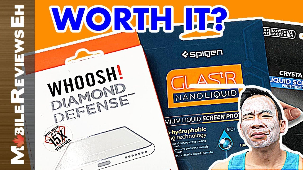 The ULTIMATE guide to Liquid Screen Protectors! Are they worth the HYPE?