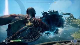 God of War - Lake Of Light Realm Tear Boss Fight  NO DAMAGE TAKEN Part 2