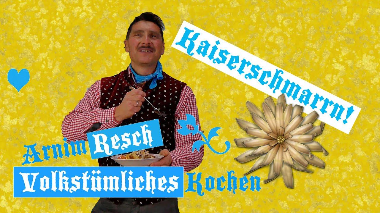 Zünftiger Kaiserschmarrn, volkstümlich präsentiert. So gelingt er hundertprozentig!