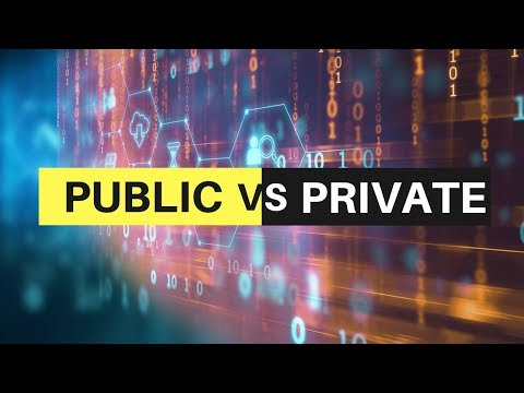 Public vs Private Blockchain - Bitcoin and Ethereum vs HyperLedger and Quorum