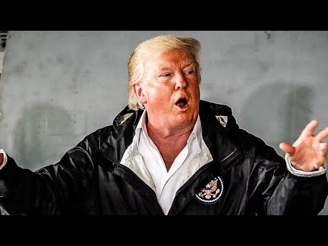 Trump Goes To Puerto Rico And Shows How Crazy He Truly Is