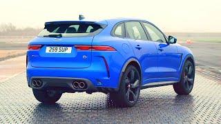 Новый 2021 Jaguar F-pace SVR Facelift - Интерьер и Экстерьер