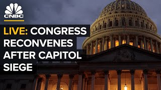 WATCH LIVE: Congress reconvenes after Capitol siege - 1/6/2021