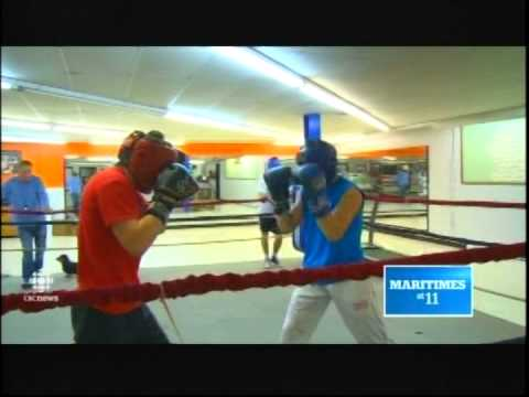 CBC Halifax 11pm March 09 2015 _ Boxing Sanford Brothers of Kennetcook NS