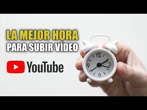A Qu� Hora Debes Publicar Tus V�deos En YouTube Para Tener M�s Visitas
