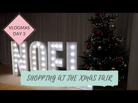 SHOPPING AT THE CHRISTMAS FAIR!   Caroline Towers Vlogmas