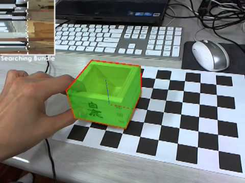 OLS: Textureless 3D object tracking in cluttered backgrounds