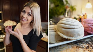 HOW TO MAKE CONCHAS MEXICANAS  PAN DULCE