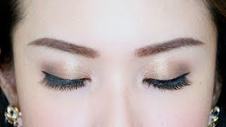 Golden Eyes - Jasmine Tam, Malaysia Beauty YouTuber