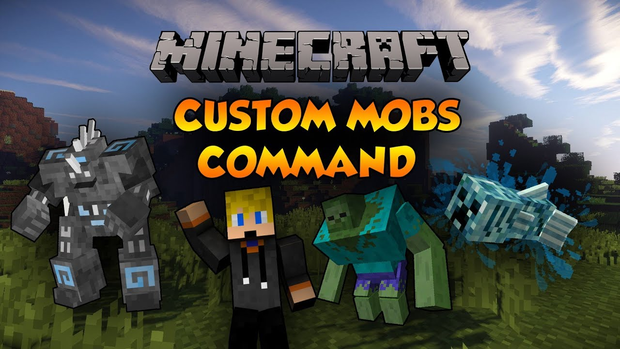 Minecraft Xbox One Command Block (CUSTOM MOBS) Xbox/PlayStation/PC/MCPE