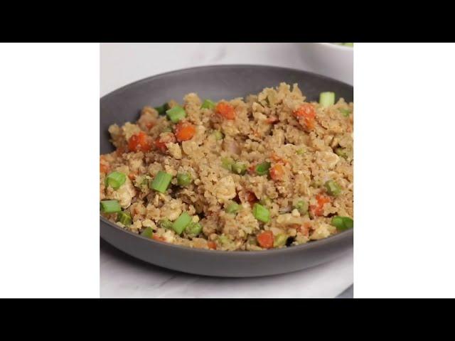 How to make Fried rice using cauliflower