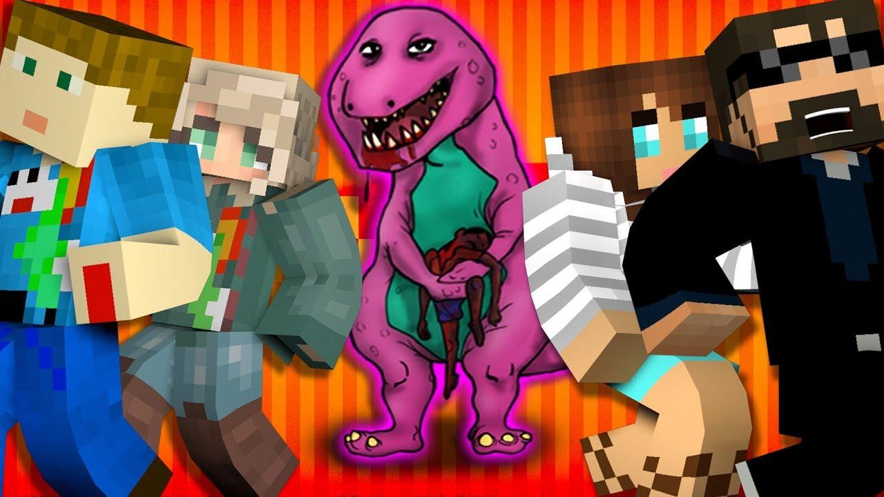 Minecraft: BARNEY MURDER | MODDED MINI-GAME