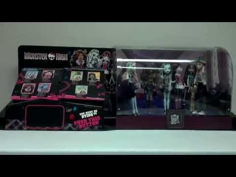 monster high doll target store display sound and video youtube. Black Bedroom Furniture Sets. Home Design Ideas