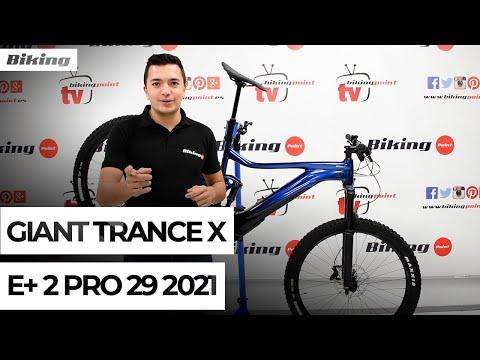 Bicicleta Giant Trance X E+ 2 Pro 29 2021 | Presentación
