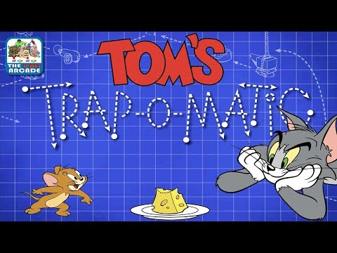 Tom And Jerry: Tom's Trap-O-Matic - Set Up Elaborate Traps To Catch Jerry (Boomerang Games)