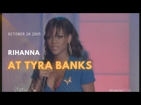 2005 10 28 Rihanna at Tyra