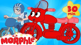 My Red Motorbike's Big Chase - My Magic Pet Morphle Motorbike and Vehicle Videos For Kids