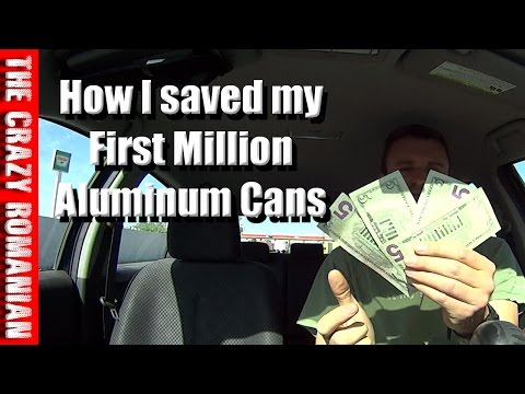 How I saved my First Million - Recycle Aluminum Cans