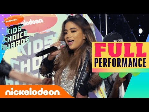 "Ally Brooke Performs ""Low Key"" on Orange Carpet 
