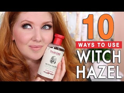 10 Ways to Use WITCH HAZEL In Your Beauty Routine