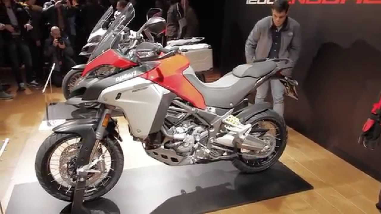 EICMA 2015 -... Ducati Youtube Multistrada 2015