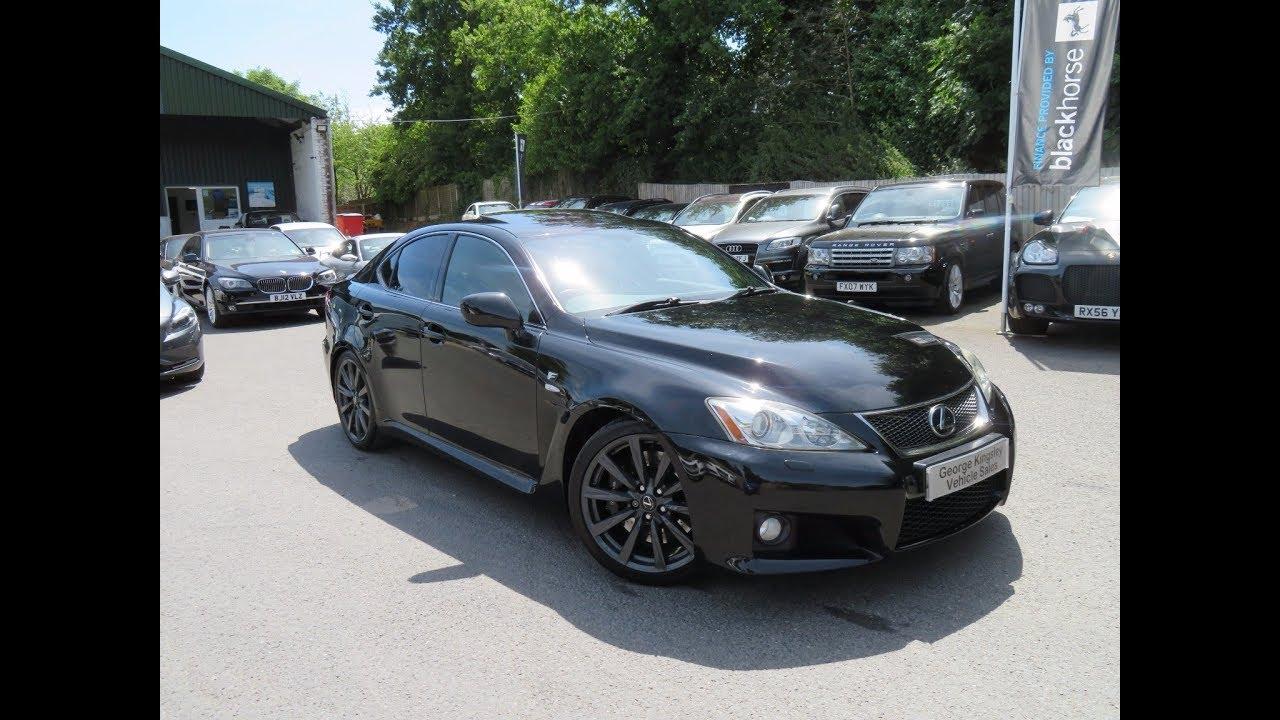 2008 lexus isf (420bhp) for sale at george kingsley vehicle sales