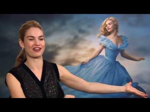 Lily James Cinderella Interview Part 1