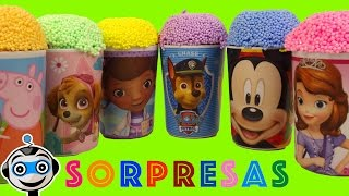 Vasos Sorpresa con Princesas Disney