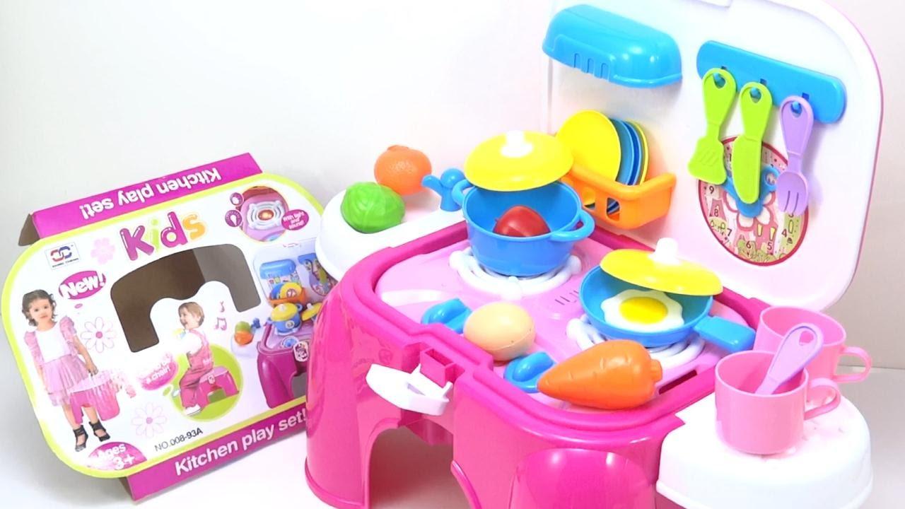 Cocina de juguete para ni as se convierte en silla - Accesorios para la cocina ...