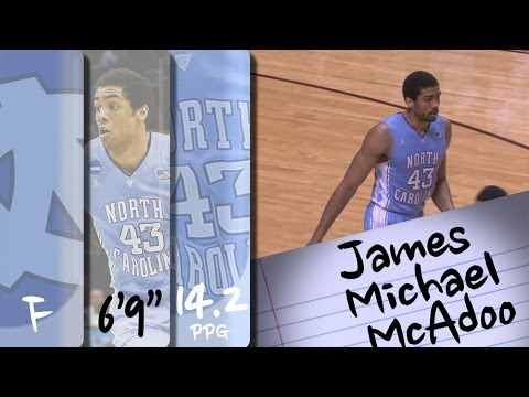 Official Highlights | North Carolina Forward James Michael McAdoo
