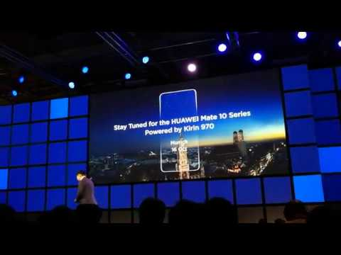 Huawei Kirin 970 - Richard Yu Keynote @ IFA 2017
