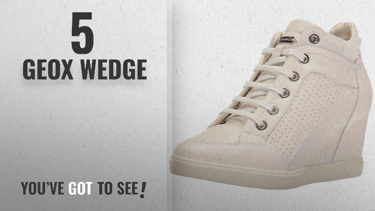 b3e280c1d3 Top 5 Geox Wedge [2018]: Geox Women's Eleni 31 Sneaker, Off White ...