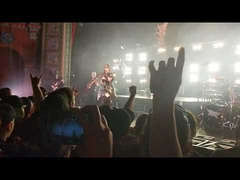 BABYMETAL-Distortion live @ Kansas City Uptown Theater 2018