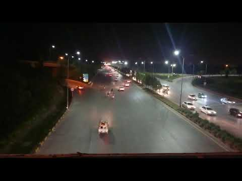 Zero Point Interchange  - Traffic movement out of Islamabad