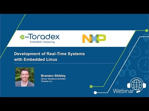Webinar On-Demand: Development of Real-Time Systems with Embedded Linux