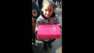 Christmas boxes event with Syrian children @ Istanbul/ tomorrow is better project